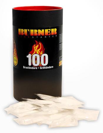 Burner bras-&grilltändare 100