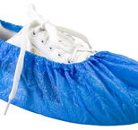 Skoskydd 100st/fp Worksafe PE shoe cover Blå One-size