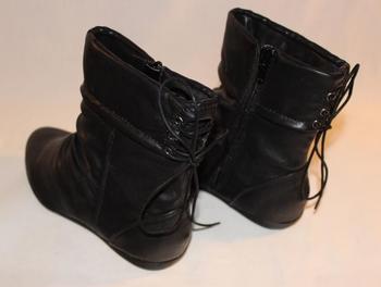 Duffy boots dam svart låg